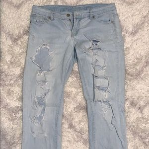 Mossimo size 6 low rise jeans